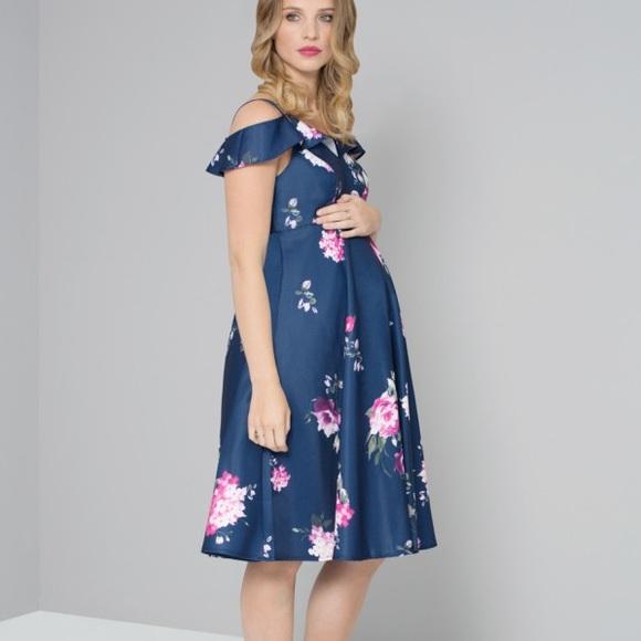 29df18e3ccc2f ASOS Maternity Dresses | Asos Chi Chi London Maternity Cold Shoulder ...